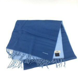 HERMES Logo embroidery casual Scarf Stole